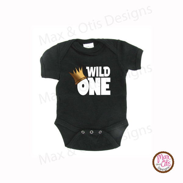 Wild One Birthday Party - Infant Bodysuit - Max & Otis Designs