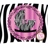 Printable Cupcake Wrappers - Baby Shower Zebra Print