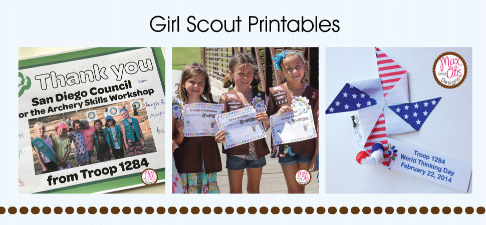 Girl Scout Printables