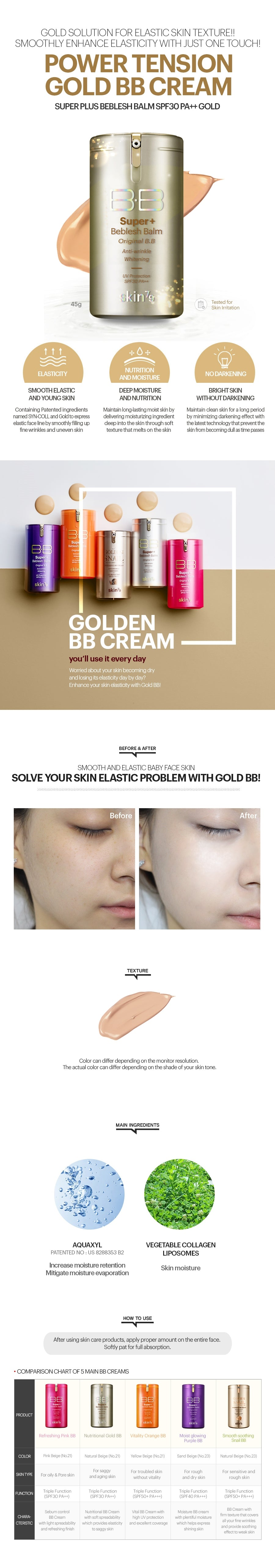 Skin79 gold BB Cream
