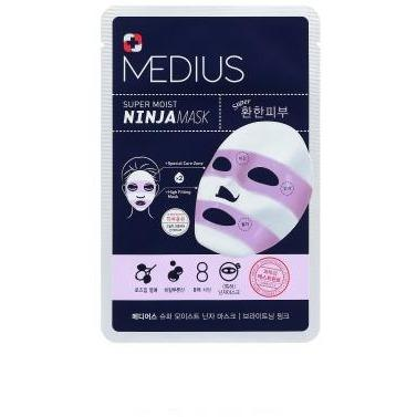 Super Moist NINJA Mask Brightening Pink 33mL