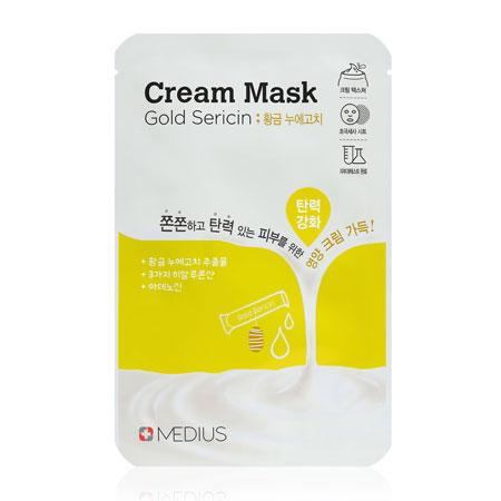 Medius Cream Mask Gold Sericin 25mL
