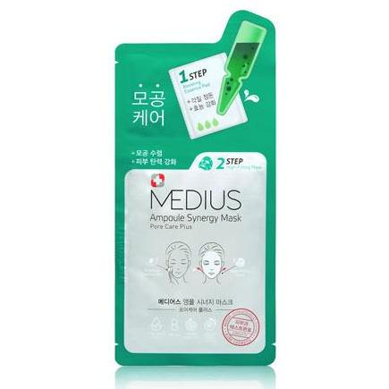 Medius 2 Step Ampoule Synergy Mask Pore Care Plus 33mL