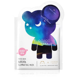 THE OOZOO Bear aurora illuminating mask (5 sheet/1Box)