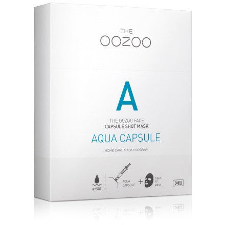 THE OOZOO Face capsule shot mask Aqua capsule 5 sheet