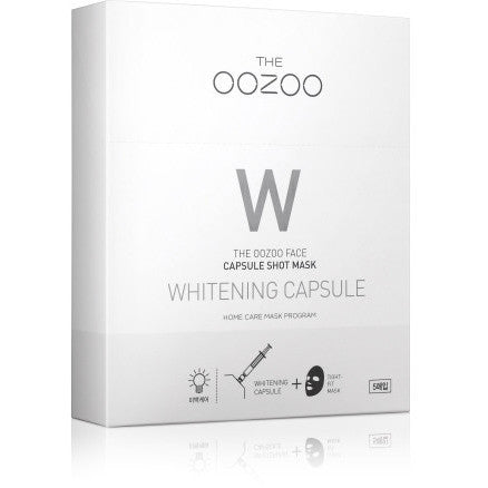 THE OOZOO Face capsule shot mask Whitening capsule 5 sheets