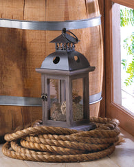 Small Monticello Candle Lantern