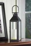Black Manhattan Candle Lantern - Distinctive Merchandise