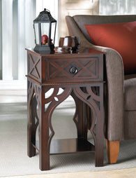 MOROCCAN-STYLE SIDE TABLE - Distinctive Merchandise