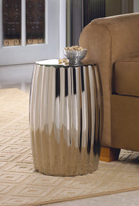 Silver Decorative Stool - Distinctive Merchandise