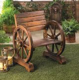 Wagon Wheel Chair - Distinctive Merchandise