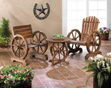Wagon Wheel Table - Distinctive Merchandise