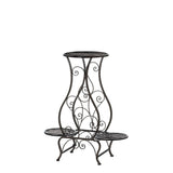 Hourglass Triple Plant Stand - Distinctive Merchandise