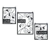 Live Love Laugh Wall Décor - Distinctive Merchandise
