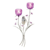Fuchsia Blooms Wall Sconce - Distinctive Merchandise