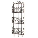 Vintage Charm Triple Wall Rack - Distinctive Merchandise
