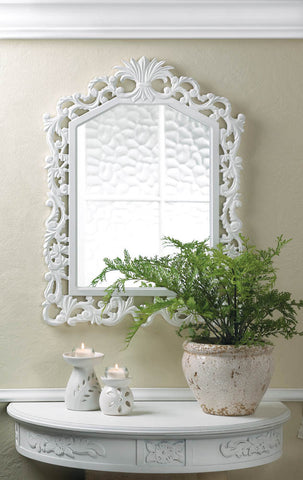 Fleur-De-Lis Wall Mirror - Distinctive Merchandise