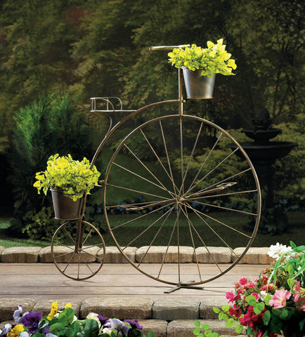 Old-Fashioned Bicycle Plant Stand - Distinctive Merchandise