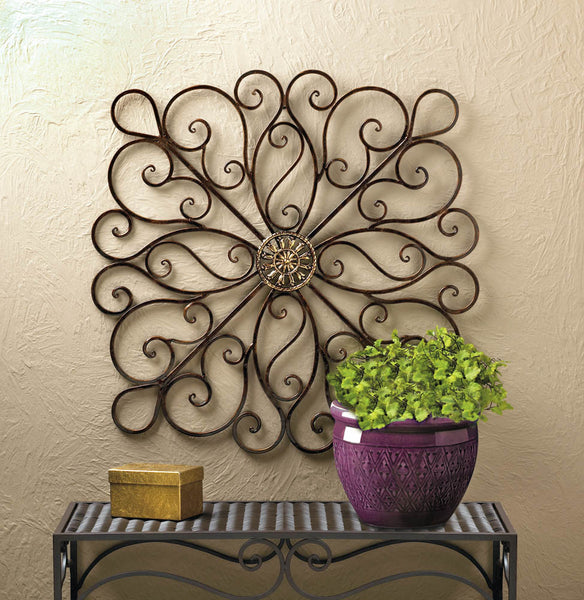 Iron Scrollwork Wall Décor - Distinctive Merchandise