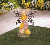 Garden Blooms Fairy Solar Statue - Distinctive Merchandise