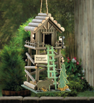 Ranger Station Birdhouse - Distinctive Merchandise