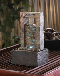 CASCADING WATER TABLETOP FOUNTAIN - Distinctive Merchandise