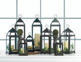 Large Contemporary Candle Lantern - Distinctive Merchandise