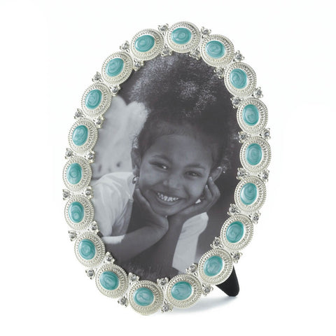 Sea Cabochon Photo Frame 5x7 - Distinctive Merchandise