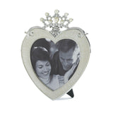 Heart Crown Frame 5x5 - Distinctive Merchandise