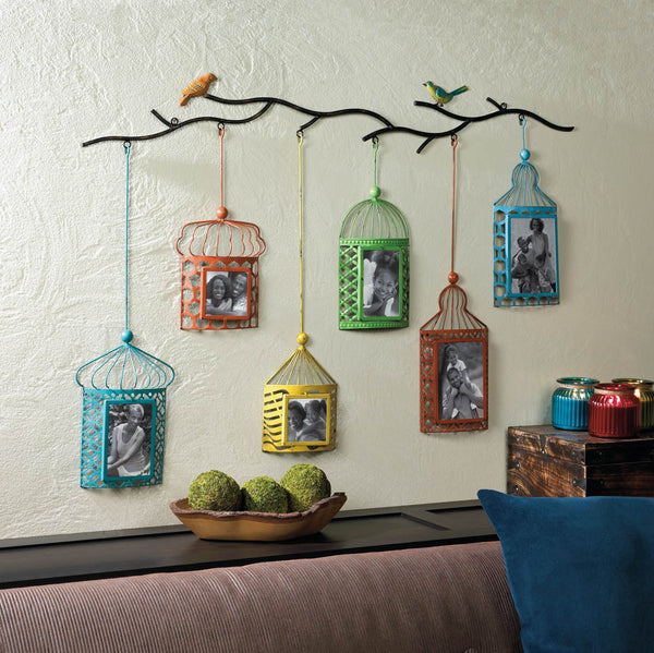 Birdcage Photo Frame Décor - Distinctive Merchandise