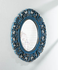 Vintage Belle Blue  Mirror - Distinctive Merchandise