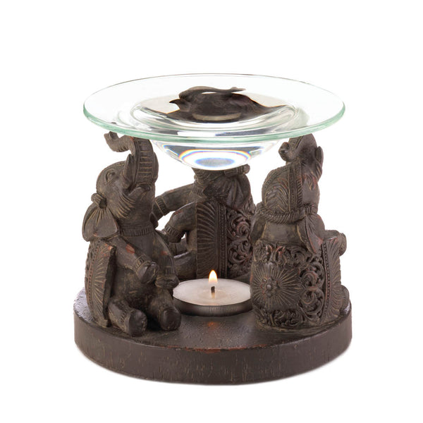 Elephant Oil Warmer - Distinctive Merchandise