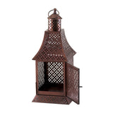 Labyrinth Pewter Lantern - Distinctive Merchandise