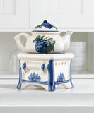 Teapot Stove Oil Warmer - Distinctive Merchandise