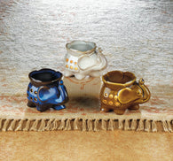 Elephant Oil Warmer Trio - Distinctive Merchandise