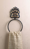 Iron Bear Paw Towel Ring - Distinctive Merchandise