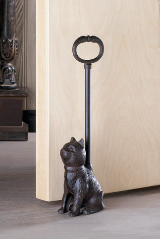 Cat Door Stopper With Handle - Distinctive Merchandise
