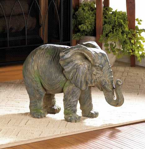 Weathered Elephant Statue - Distinctive Merchandise