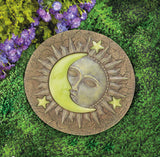 Sun And Moon Glowing Stepping Stone - Distinctive Merchandise