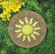Bursting Sun Glowing Stepping Stone - Distinctive Merchandise