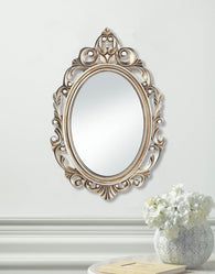 GOLD ROYAL CROWN WALL MIRROR