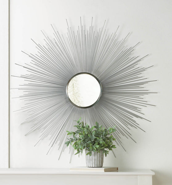 Silver Rays Mirror