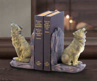 Howling Wolf Bookends - Distinctive Merchandise
