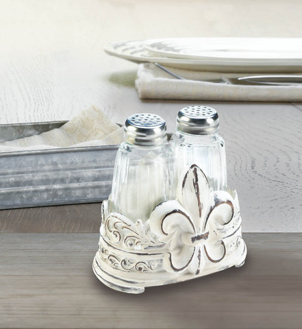 Fleur-De-Lis Shaker Set - Distinctive Merchandise