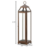 Extra Tall Copper Lantern - Distinctive Merchandise