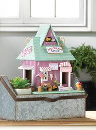 Ice Cream Shop Birdhouse - Distinctive Merchandise