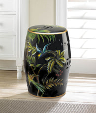 Tropical Birds Decorative Stool - Distinctive Merchandise