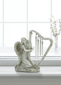 Angel Harp Wind Chime - Distinctive Merchandise