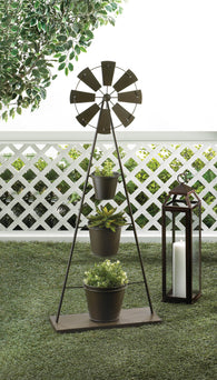 Windmill Plant Stand - Distinctive Merchandise