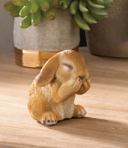Giggling Bunny Figurine - Distinctive Merchandise